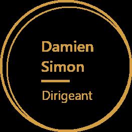 Agelios, Damien Simon, Dirigeant