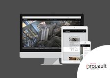Groupe Drouault –  Site web