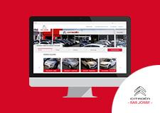 SAS JOSSE – Site web